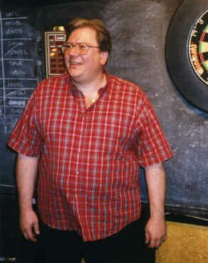 Dave Whitcombe 'on the Oche'